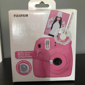 "🍃 Final price ""firm"" NEW Fuji Instax mini 9"